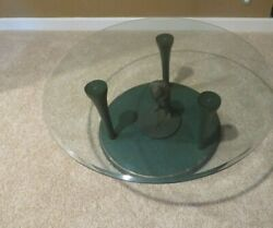 Golfer Table A Must Have For Golfer One Of A Kind Golfer Tees Full Glass Top Wow