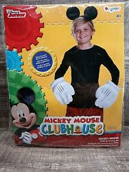 Mickey Mouse Clubhouse Child Accessory Kit. Size 4+. Ears And Gloves