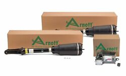 Arnott Front Air Struts And Compressor Kit For Mb X164 Gl-class Airmatic Air Dryer