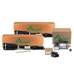 Arnott Front Air Susp Struts Compressor And Solenoid Kit For Mb W164 Airmatic Ads