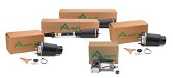 Arnott Front Air Struts And Springs And Compressor Kit For Mercedes X164 Gl Class