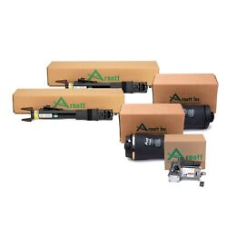 Arnott Reman Rear Shocks And Air Springs And Compressor Kit For Mercedes W251