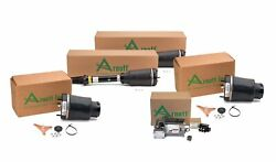 Arnott Front Air Struts And Springs Compressor Valve Unit Kit For Mb X164 Gl-class