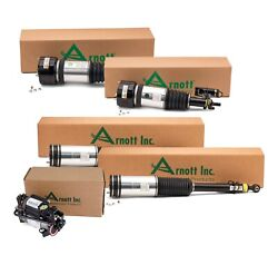Arnott Front And Rear Air Strut Assembly And Compressor Kit For Mercedes-benz W220
