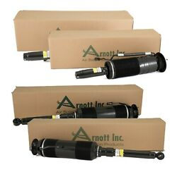 Arnott Reman Front And Rear Air Struts Kit For Mercedes C215 W220 S-class Abc Susp