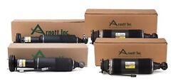 Arnott Reman Front And Rear Air Struts Kit For Benz R230 Sl-class With Abc Susp