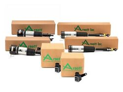 Arnott Front And Rear Air Strut Assembly And Ride Height Sensor Kit For Mb W220