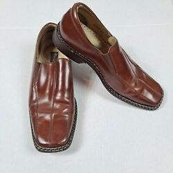 Men's Stacy Adam's Dress Shoes Size 11 Slip-on Loafer Dress Shoes
