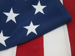 American Flag 6x10 Ft Embroidered Stars Sewn Stripes Brass Grommets Usa Flag