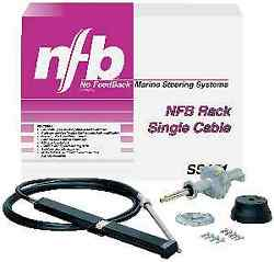 Teleflex Ss15118 18ft Nfb Rack Steering System With Ssc13418 Single Cable 8713