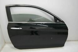 13-17 Honda Accord Coupe Lx Passenger Front Right Door Electric Black