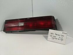 Used Vintage 1984 Mercury Lynx/right Tail Lightdrivers Quality