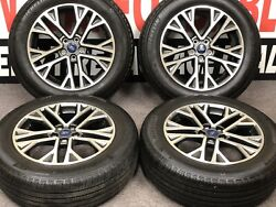 Set Of Four 18x7 2020 Ford Escape Wheels Michelin Primacy A/s 225/60r18