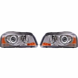 Valeo Set Of 2 Front Active Hid Xenon Cornering Headlights Lamps For Volvo Xc90