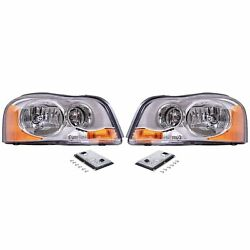 Valeo Front Left Right Xenon Headlights And Hid Lighting Ballast Kit For Xc90