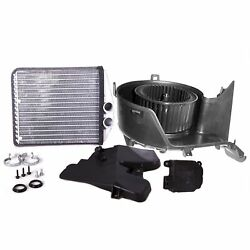Valeo Hvac Heater Core With Blower Motor And Hvac Actuator Kit For Saab 9-3 03-11