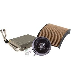 Valeo Blower Motor Resistor And Evaporator Core And Cabin Air Filter Kit For E92 F30