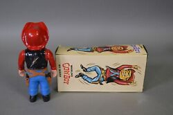Marx Whirling Wind-up Cowboy 6 1/2 Inches Tall