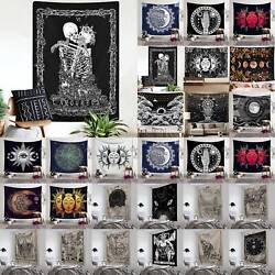 Gothic Tapestry Tarot Gypsy Wall Hanging Boho Blankets Home Living Room Decor