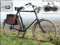 1906 Sparkbrook Grand 27 Tall Frame Full Set Of Accessories. Vintage Bicycle