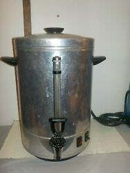 Vintage Regal 12 To 84 Cup Automatic Coffee Pot Percolator 7001
