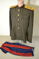 Wwii Ussr Marshal Artillery Field Uniform Tunic And Pants