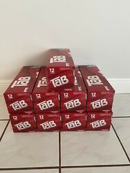 4 Tab Soda 12 Pack Lot Of 4 12oz. New Factory Sealed. Discontinued, Diet Pop