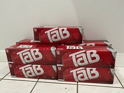 Tab Soda 12 Pack Lot Of Eight 12oz. New Factory Sealed. Discontinued, Diet Pop