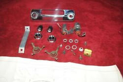 62 63 Nos Ford Fairlane Radio Bezel And Install Kit Perfect In Every Detail Sho