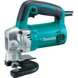 10 Gauge Shear Nibbler Lock On Switch Corded 6.2 Amp Power Tool New Teal Finish