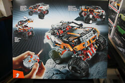 Lego Technic Motorized 4x4 Crawler With Motors And Remote 9398 Unopened As New