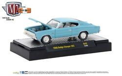 L106 32600 42 M2 Machines Detroit Muscle 1966 Dodge Charger 383 Turquoise 164