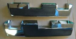 Mopar 65 66 C-body A And B-body Armrest Pads And Bases 1965 1966
