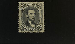 Us 77 Very Nice Mint Light Hinged Lincoln Gd 42