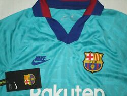Nike Fc Barcelona 2019/20 Youth Soccer Jersey Large New Nwt 75 At2632-310