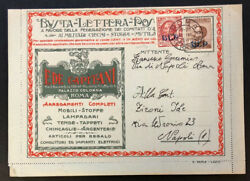 Italy B5 + B8 On Blp Cover Signed Twice Od N325