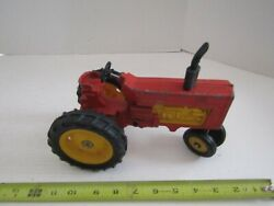 Vintage Diecast Metal Farm Toy Tractor Hubley Narrow Front Lancaster Pa