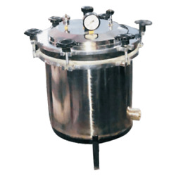 Rl-901 Portable Table Top Autoclave Sterilizer Fully Ss | Hydraulically Tested