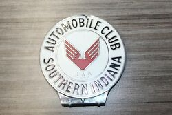 Vintage Automobile Club Southern Indiana Aaa License Plate Topper