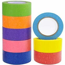 Colored Masking Tape 8 Different Colors Fun Supplies Kit For Kids And Adults 1