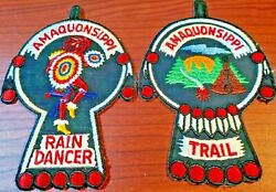 Amaquonsippi Trail And Rain Dancer Patches Boy Scouts Of America Bsa