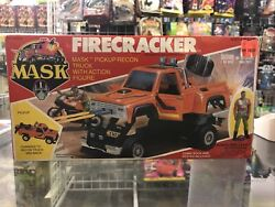 Mask Kenner Firecracker Complete W/box Hondo Maclean, Mask, Motorcycle, Tire