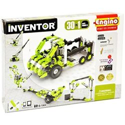 Engino Inventor - 30-in-one |build 30 Motorized Models | Assemble Drag Racer D