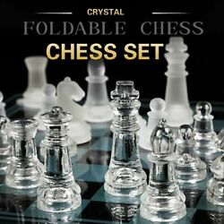 Acrylic Chess Board High Quality Anti-broken Large Glass Chess Pieces Chess