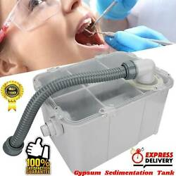Dental Plaster Trap Powder Filter Water Separator For Clinic Sink New