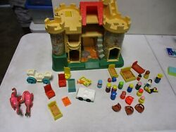Vintage Fisher Price Play Family Castle 993