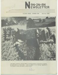 9n And 2n Ford Tractor Differences, Tractor Paint Information And History