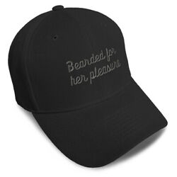 Dad Hats for Men Bearded for Her Pleasure Embroidery Women Baseball Caps Acrylic