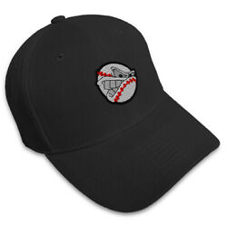 Dad Hats For Men Sport Baseball Mad Ball Face Embroidery Women Baseball Caps