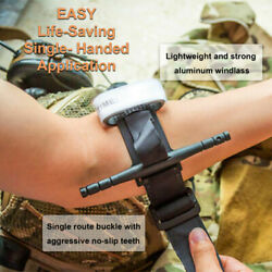 One Hand CAT Tourniquet Combat Application First Aid Handed Emergency Outdoor